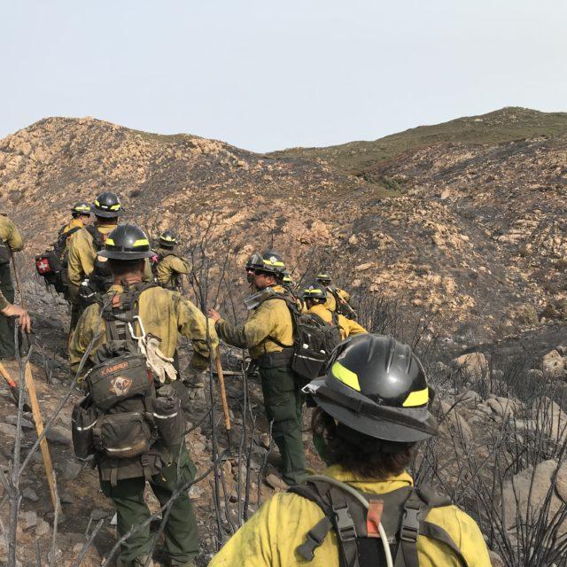 Wildfire Prevention Team in California