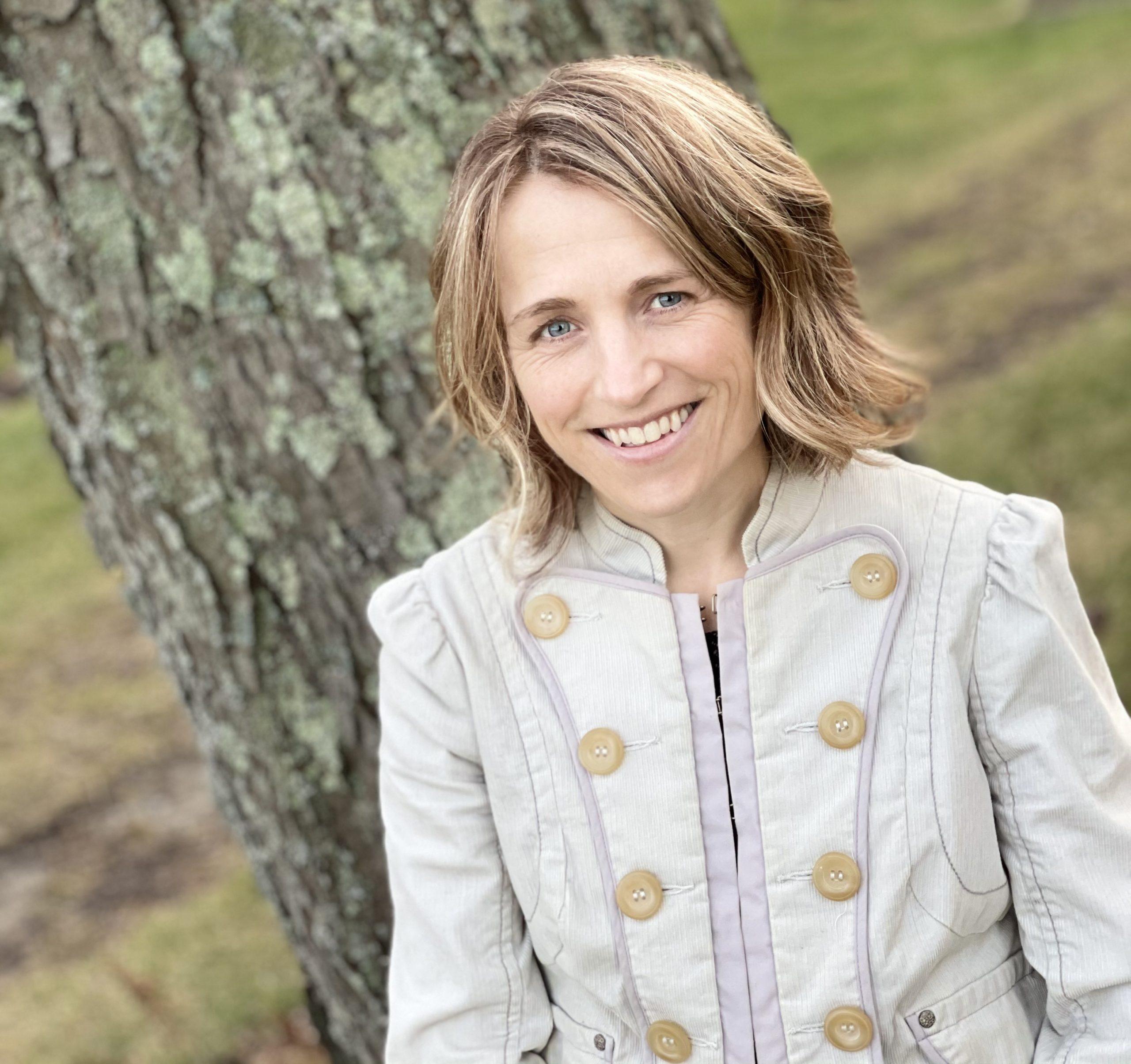 Instructor Jenna Webster for Ecological Landscape Design Course.